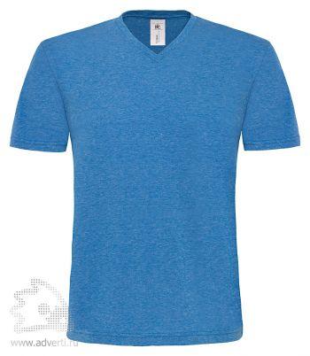 Футболка «Mick Deluxe/men», мужская, синяя делюкс