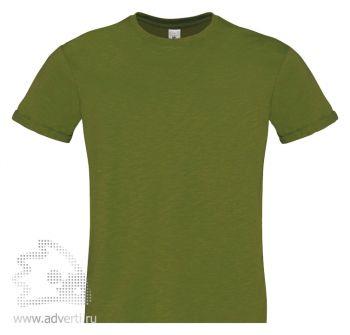 Футболка «Too Chic/men», мужская, стильная зеленая