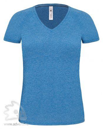 Футболка «Blondie Deluxe/women», женская, синяя делюкс