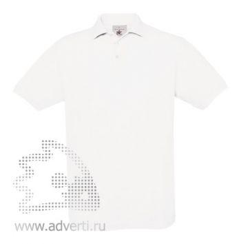 Рубашка поло «Safran», мужская, белая