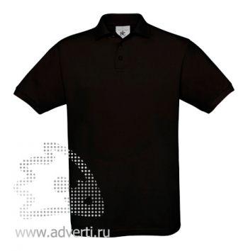 Рубашка поло «Safran», мужская, черная