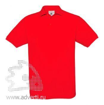 Рубашка поло «Safran», мужская, красная