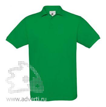 Рубашка поло «Safran», мужская, зеленая
