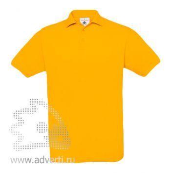 Рубашка поло «Safran», мужская, желтая