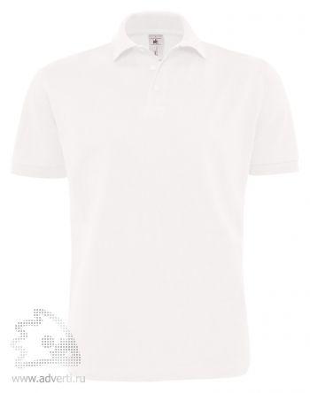 Рубашка поло «Heavymill», мужская, белая