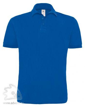 Рубашка поло «Heavymill», мужская, синяя
