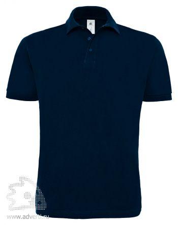 Рубашка поло «Heavymill», мужская, темно-синяя