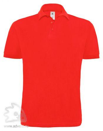 Рубашка поло «Heavymill», мужская, красная