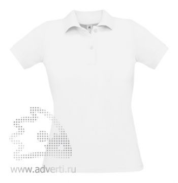 Рубашка поло «Safran Pure/women», женская, белая