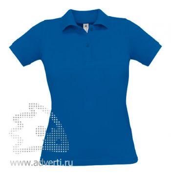 Рубашка поло «Safran Pure/women», женская, синяя