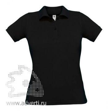 Рубашка поло «Safran Pure/women», женская, черная