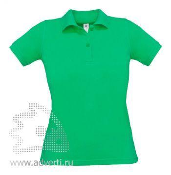 Рубашка поло «Safran Pure/women», женская, зеленая