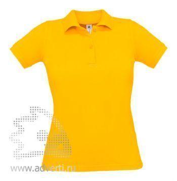 Рубашка поло «Safran Pure/women», женская, желтая