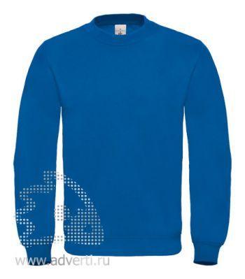 Толстовка «ID.002», унисекс, синяя