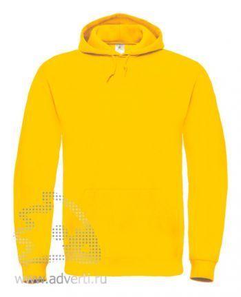 Толстовка «ID.003», унисекс, желтая