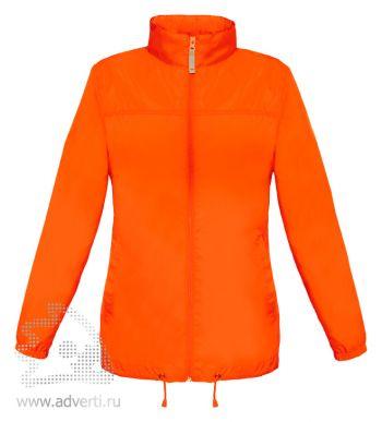 Ветровка «Sirocco/women», женская, оранжевая