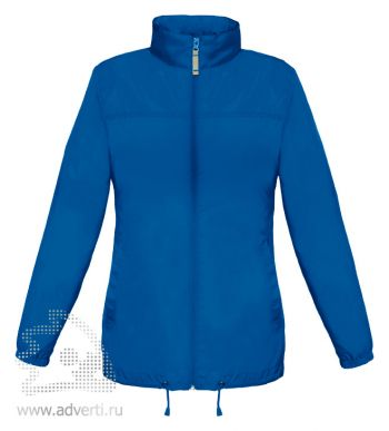 Ветровка «Sirocco/women», женская, синяя