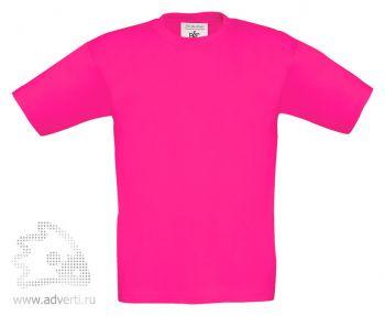 Футболка «Exact 150/kids», детская, розовая
