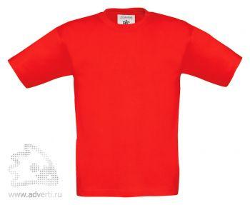 Футболка «Exact 150/kids», детская, красная