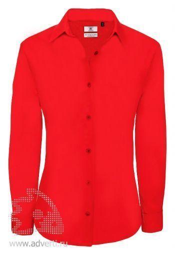 Рубашка «Heritage LSL/women», женская, красная