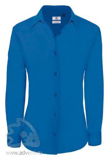 Рубашка «Heritage LSL/women», женская, синяя