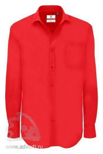 Рубашка «Heritage LSL/men», мужская, красная