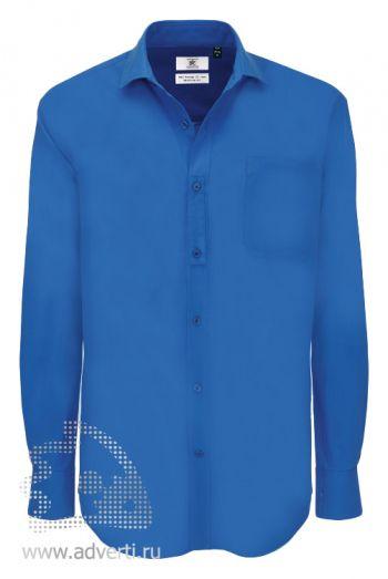 Рубашка «Heritage LSL/men», мужская, синяя