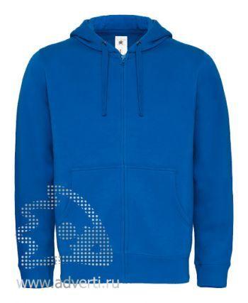 Толстовка «Hooded Full Zip/men», мужская, синяя