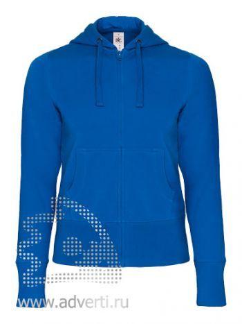 Толстовка «Hooded Full Zip/women», женская, синяя