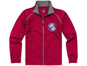 Куртка «Egmont», мужская, красная, с нанесением