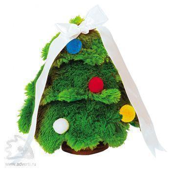 Новогодняя елка зеленая