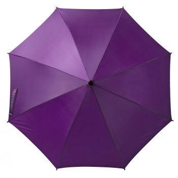 Зонт-трость «Unit Standard», полуавтомат, фиолетовый, внешний купол