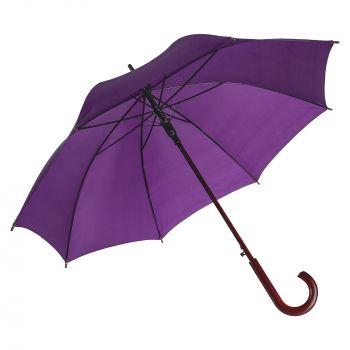 Зонт-трость «Unit Standard», полуавтомат, фиолетовый