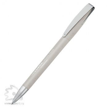 Ручка шариковая «Cobra Softgrip MM», светло-серый
