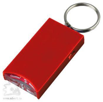 Брелок-фонарик «Плантейшн», красный