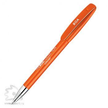 Ручка шариковая «Boa M» Klio Eterna, оранжевая