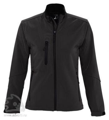 Куртка на молнии «Roxy 340», женская, черная
