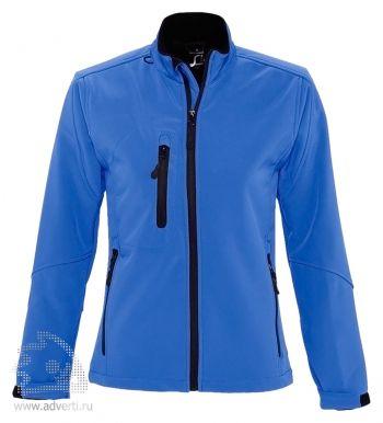 Куртка на молнии «Roxy 340», женская, синяя