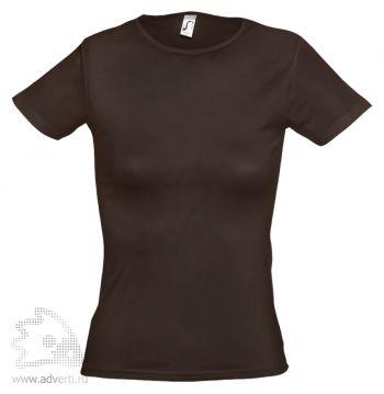Футболка «Miami 170», женская, темно-коричневая