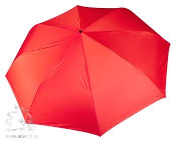 Зонт складной «Unit Auto», автомат, 3 сложения, красный