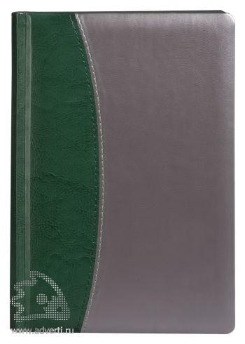 Переплет «Скат», зеленый с серебристым