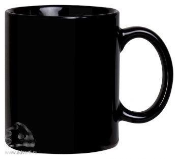 Кружка «Promo», черная