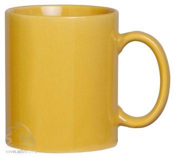Кружка «Promo», желтая