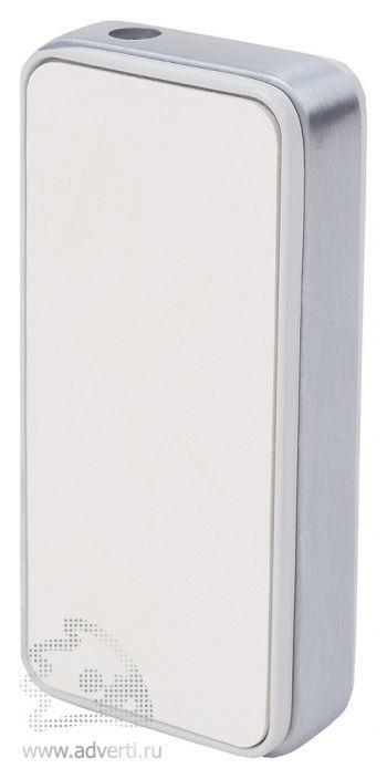 Зажигалка-слайдер «Карбон», белая