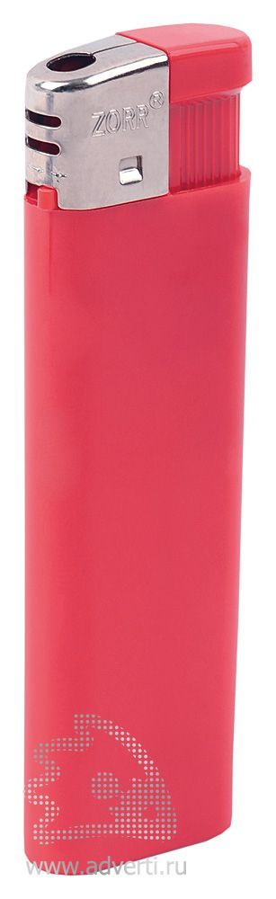 Зажигалка «Пламя», красная