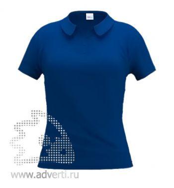 Рубашка поло «Stan Women», женская, темно-синяя