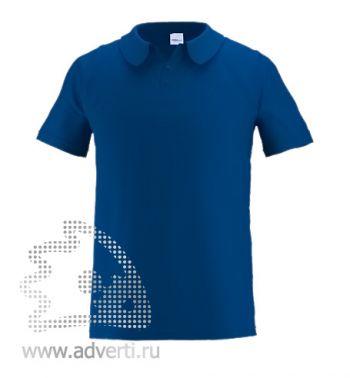 Рубашка поло «Stan Primier», мужская, темно-синяя