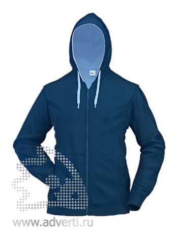 Толстовка «Stan Winner», мужская, темно-синяя с голубым