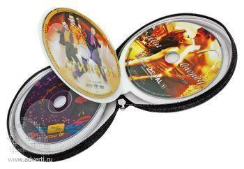 Кейс для 24-х CD-дисков на молнии