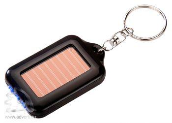 Брелок с фонариком на солнечных батареях превью